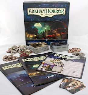 Arkham Horror: The Card Game - Box Contents