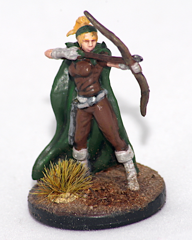 Talon D&D the temple of elemental evil miniature character