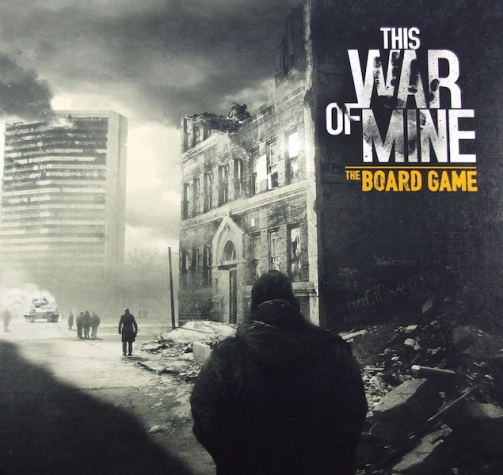 This War of Mine The Board Game Box Art