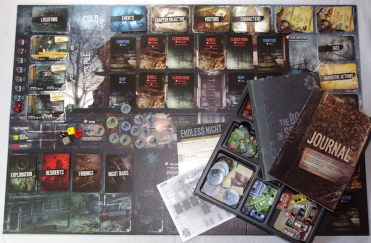 This War of Mine The Board Game Set Up
