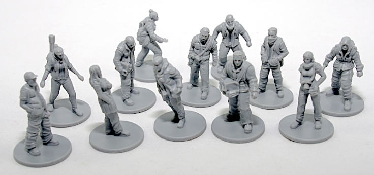 This War of Mine The board game miniatures