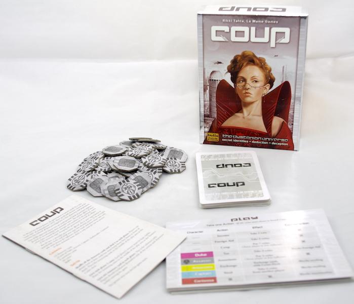 Coup Box Contents