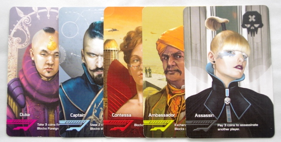 Coup Character cards