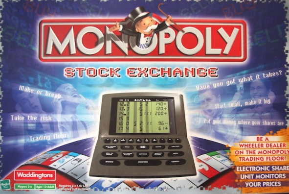 Monopoly Stock Exchange Box Art