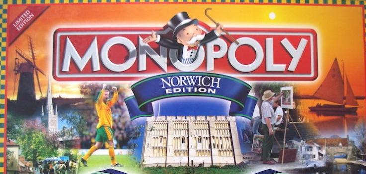 Monopoly Norwich Edition Box Art