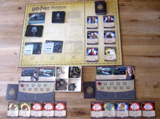 Harry Potter: Hogwarts Battle Set up