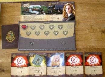 Harry Potter: Hogwarts Battle Set up Hermione