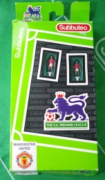 Subbuteo - Man Utd in the box!