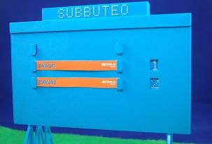 Subbuteo - Scoreboard: England 2 Belgium 1