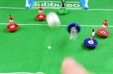 Subbuteo 'its going in!'