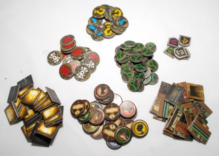 Mansions of Madness 2nd Edition Tokens