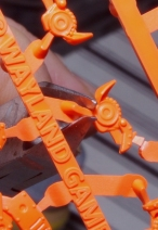 Removing from sprue