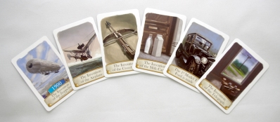 Timeline Inventions cards example