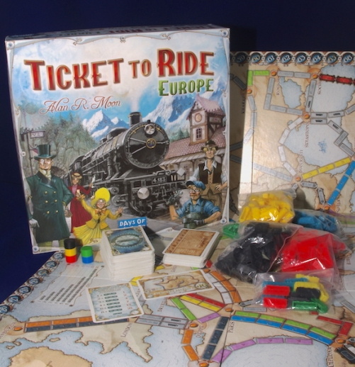 Ticket to Ride - Europe: What's in the box?
