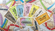 Ticket to Ride - Europe: Train cards