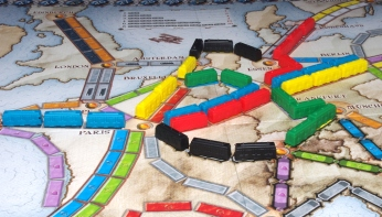 Ticket to Ride - Europe: In play