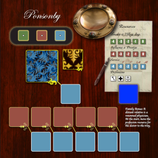 Obsession - Pre production game board
