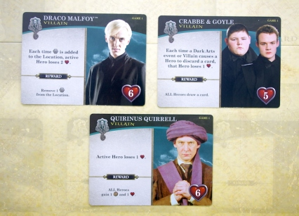 Harry Potter: Hogwarts Battle - Villains