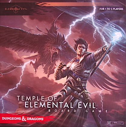 D&D: The Temple of Elemental Evil The Board Game