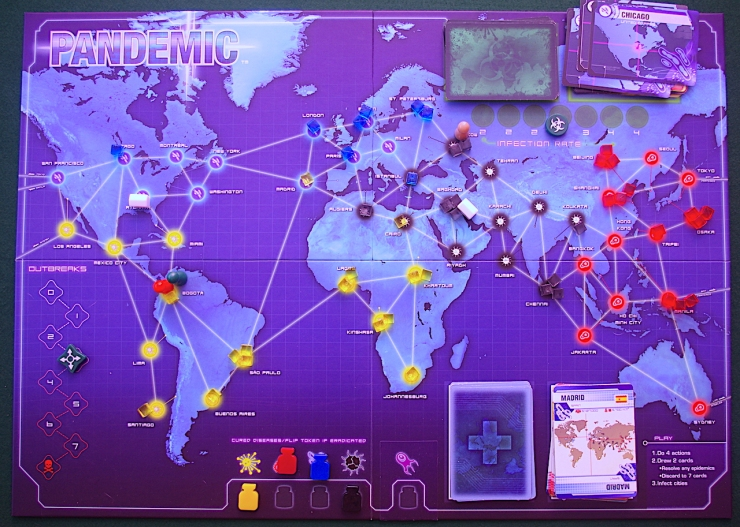 Pandemic Play-through