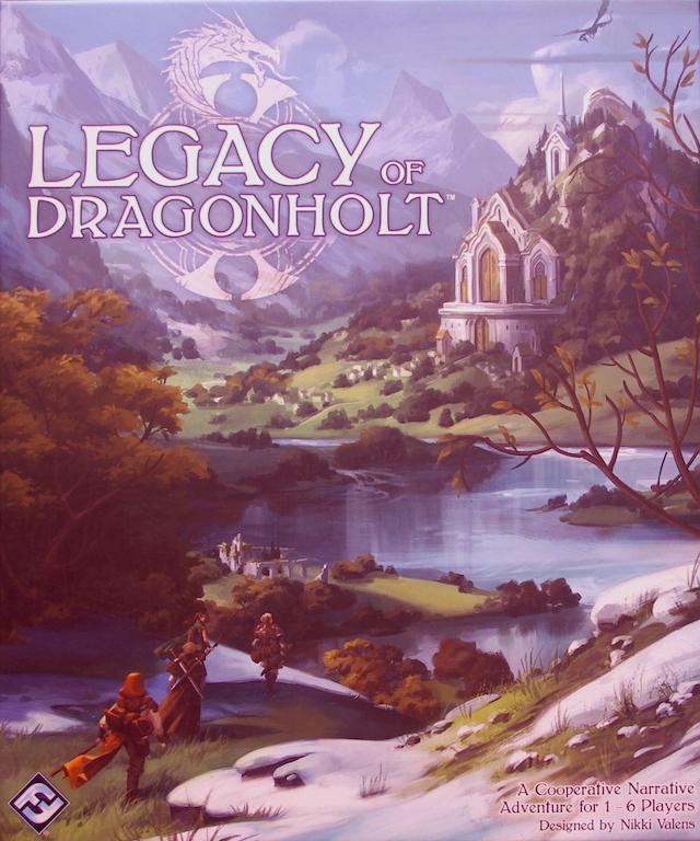 Legacy of Dragonholt - Box Art