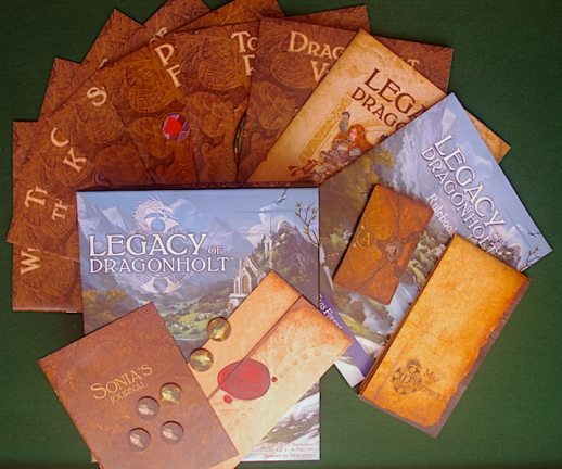 Legacy of Dragonholt - What's in the box