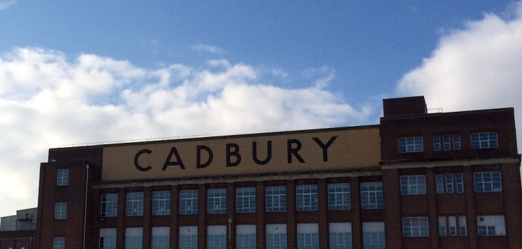 Ye old Cadbury Factory