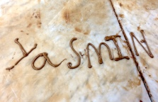 Write your name in chocolate!