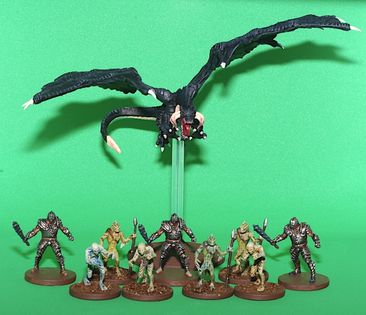 Temple of Elemental Evil Figures
