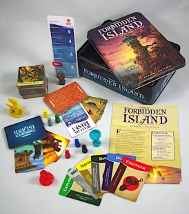Forbidden Island - What's in the box?