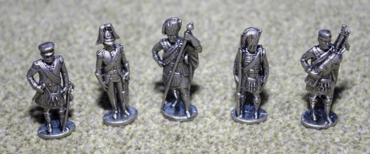 Pewter Scottish Soldiers - 40mm