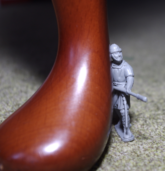 54mm plastic soldier