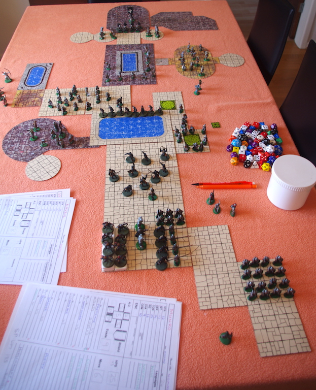 Dragon Hoard - All setup and ready to play