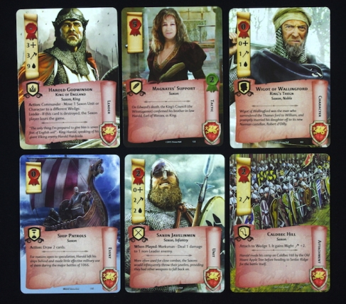 1066, Tears To Many Mothers  - Card Types