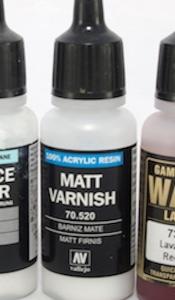 Vallejo Matt Varnish