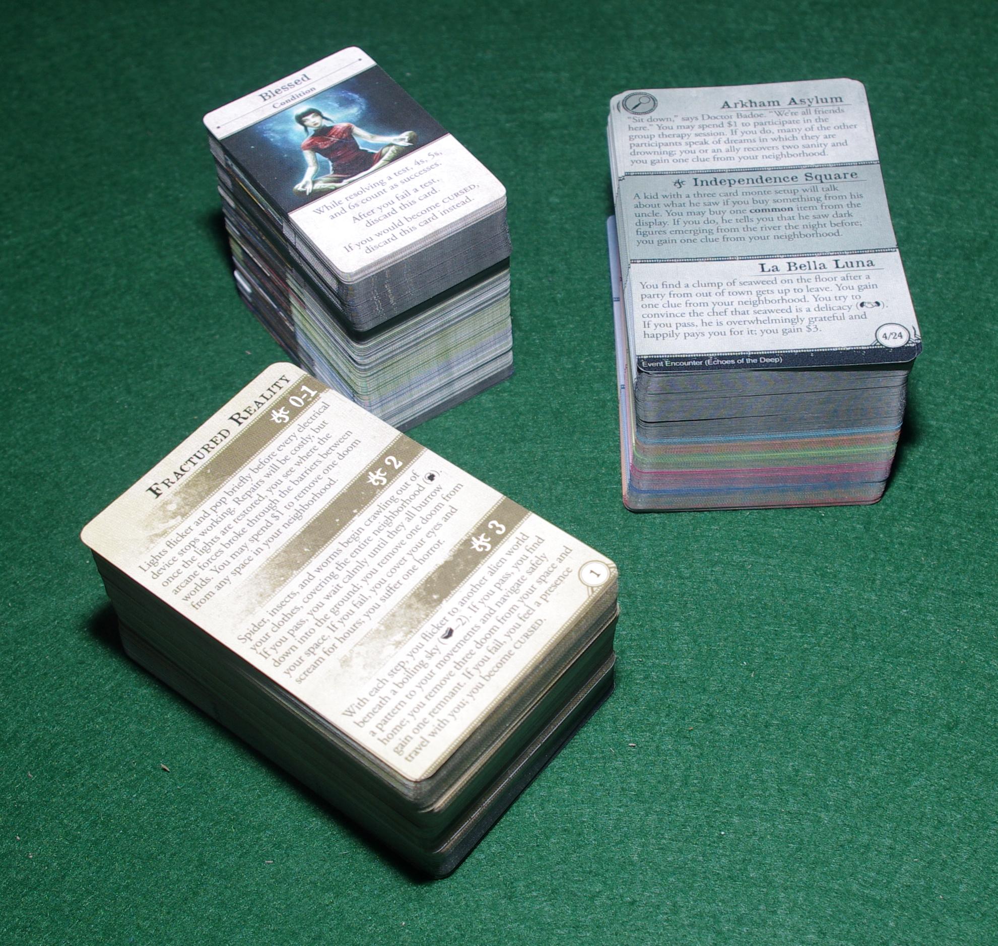 Arkham Horror 3rd Edition - Investigators - Cards