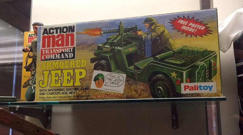 Action Man Jeep