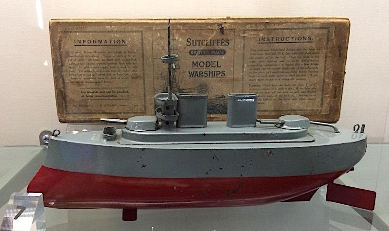 Sutcliffes Model Warship