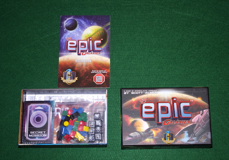 Tiny Epic Galaxies - Unboxing
