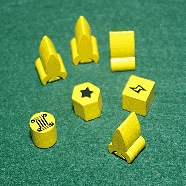 Tiny Epic Galaxies - Playing Tokens