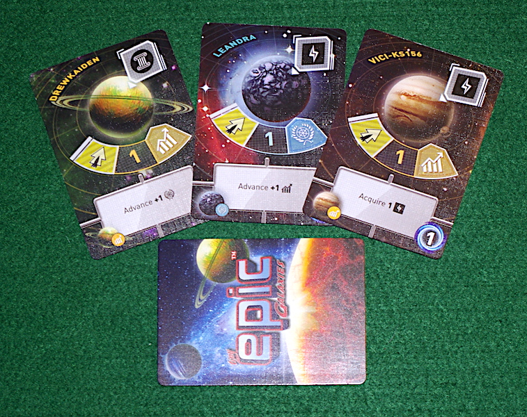 Tiny Epic Galaxies - The Planets