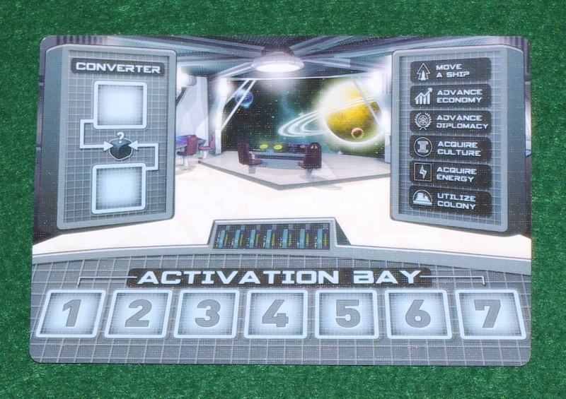 Tiny Epic Galaxies - Dice Activation Sheet