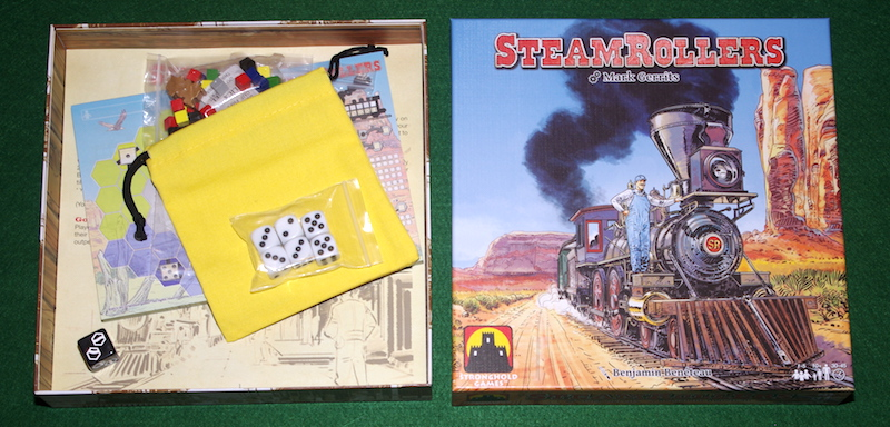 Steamrollers - Unboxing