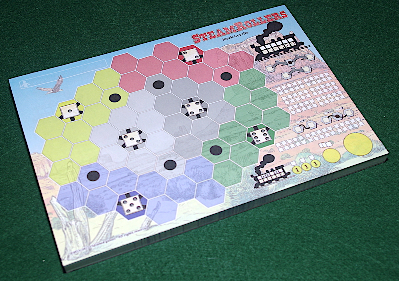 Steamrollers - Player sheets