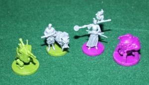Scythe: Invaders From Afar - Miniatures