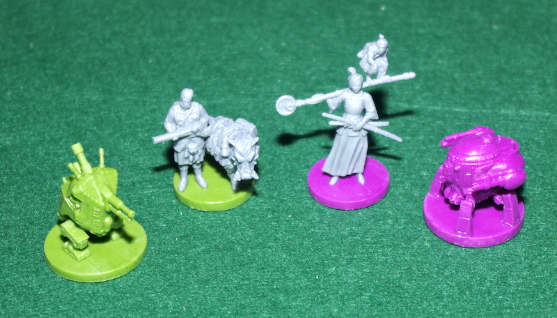 Scythe: Invaders From Afar - Miniatures