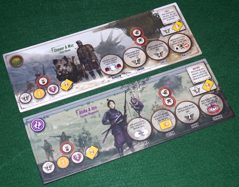 Scythe: Invaders From Afar - Faction Mats