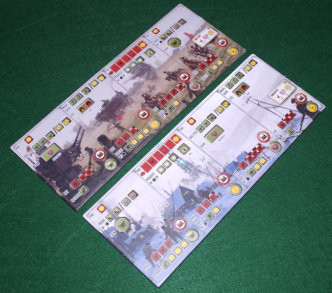 Scythe: Invaders From Afar - Player Mats