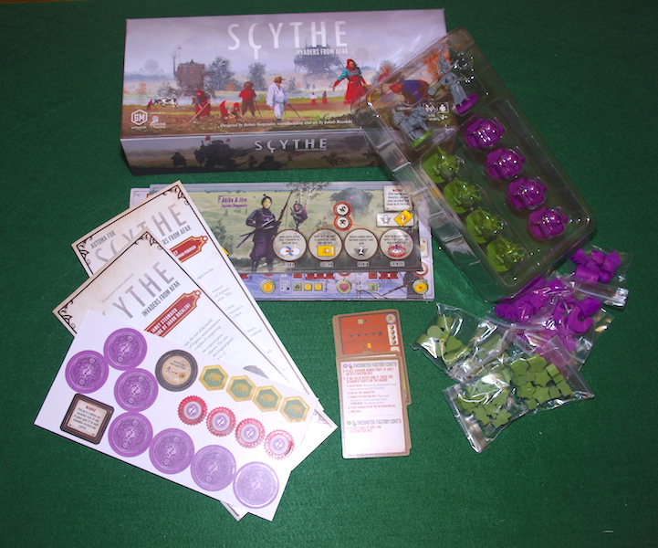 Scythe: Invaders From Afar - Unboxing