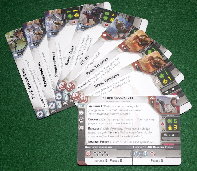 Star Wars: Legion - Unit Cards